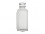 frosted glass bottle